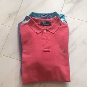 Polo by Ralph Lauren Men's Polo - coral color